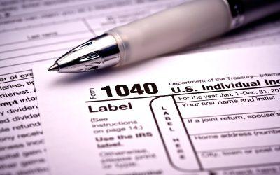 Rodney Vander Kooi's 2019 Tax Documents List